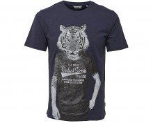 ONLY&SONS Pánské tričko Simon Funnyprint Ss Tee Blue Nights M