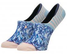 Stance Dámské kotníčkové ponožky Tuesday Blue W115A17TUE-BLU 38-42