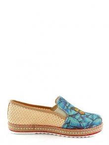 GOBY Dámská nazouvací obuv DEL116_Printed Colorful\n\n