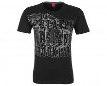 s.Oliver Pánské tričko 13.711.32.5752.99A2 Black S