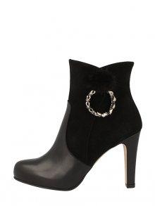 Roberto Botella Dámská kotníčková obuv M18590-67_NEGRO\n\n