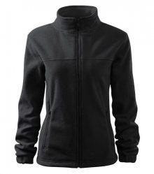 Dámská fleecová mikina Jacket - Ebony gray | M