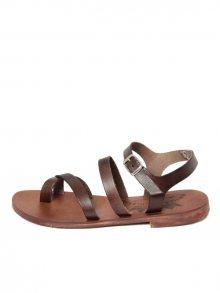 Antica Calzoleria Dámské sandály AC101_DARK_BROWN\n\n