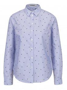 Modrá pruhovaná košile s potiskem hvězd Haily´s Julya