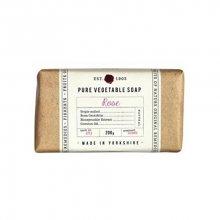 Fikkerts Hydratační rostlinné mýdlo Růže (Pure Vegetable Soap) 200 g