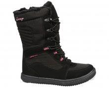 LOAP Dámské zimní boty Meribel Black/Magenta SBL1744-V11J 36
