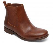 Roxy Kotníčkové boty Diaz Dark Brown ARJB700542-DBR 38