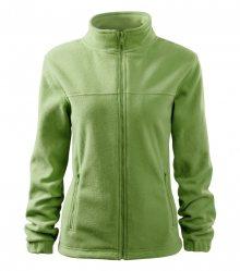 Dámská fleecová mikina Jacket - Trávově zelená | XS