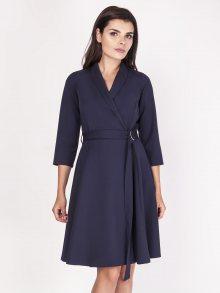 Naoko Dámské šaty AT102_NAVY