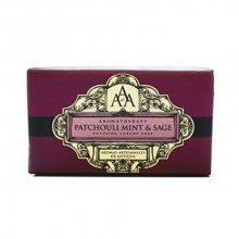Somerset Toiletry Rozjasňující luxusní mýdlo Pačuli, máta a šalvěj (Patchouli, Mint & Sage Focusing Luxury Soap) 200 g