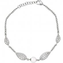 Morellato Ocelový náramek s perlou Natura SAHL11