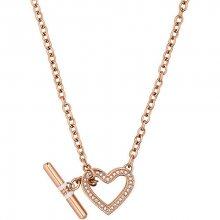 Tommy Hilfiger Bronzový náhrdelník se srdcem TH2700638