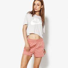 Nike Tričko Ss W Nsw Essntl Top Crop Ss Ženy Oblečení Trička Aa3144-092 Ženy Oblečení Trička Fialová US M