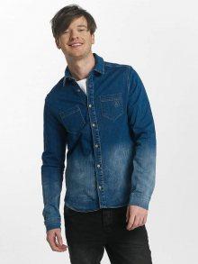 Košile modrá M