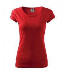 Dámské tričko Pure - Červená | XXXL