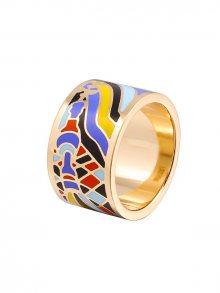 Rose Salome Jewels Dámský prsten RDZ004L_ORANGE BLUE BLACK\n\n
