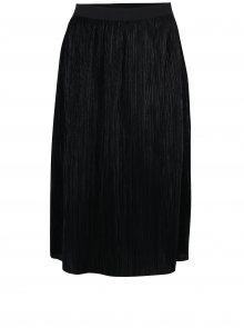 Černá plisovaná sukně VILA Silvi