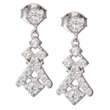 Preciosa Náušnice s krystaly Crystal Way 6021 00