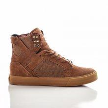 Unisex Sneakers Skytop Brown Red Gum 40