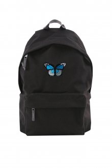 Batoh Simple Blue Butterfly Patch
