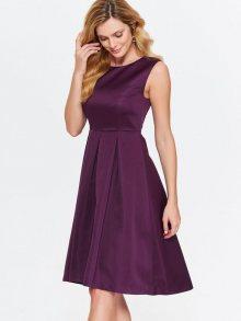 Šaty fialová 34