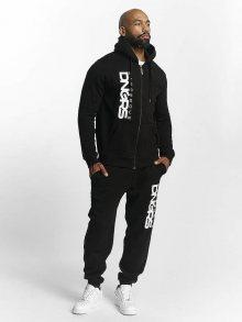 Teplákovka Suits černá 4XL