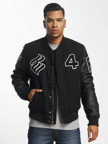 Baseballová bunda černá S