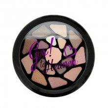 Makeup Revolution Paletka očních stínů Jdi do nebe I LOVE MAKEUP (Eyeshadow Palette) 8,5 g - SLEVA - vypadávající sklíčko