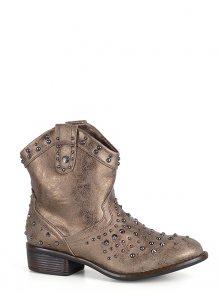 Bruno Banani Dámské kotníčkové boty 4AAD001691_gold