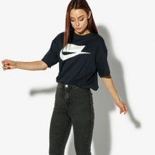 Nike Tričko Ss W Nsw Top Ss Nsw Ženy Oblečení Trička Ah4007-475 Ženy Oblečení Trička Tmavomodrá US M