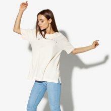 Nike Tričko Ss W Nsw Top Ss Basic Air Ženy Oblečení Trička Aq9967-838 Ženy Oblečení Trička Růžová US XS