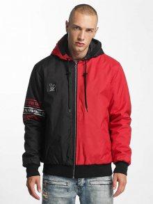 Zimní bunda červená XXL