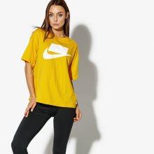 Nike Tričko Ss W Nsw Top Ss Nsw Ženy Oblečení Trička Ah4007-752 Ženy Oblečení Trička Žlutá US M