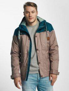 Zimní bunda béžová S
