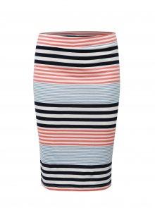 Modro-bílá pruhovaná sukně Broadway Francelle