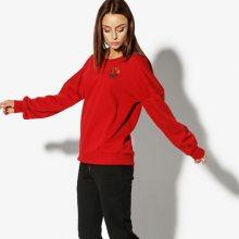 Confront Mikina Rose Ženy Oblečení Mikiny Cf38Bld20001 Ženy Oblečení Mikiny Červená US M