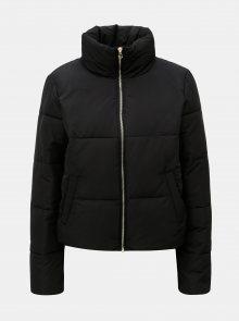 Černá krátká zimní bunda Jacqueline de Yong