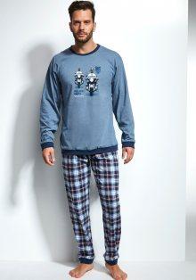 Pánské pyžamo Cornette 115/106 L Modrá