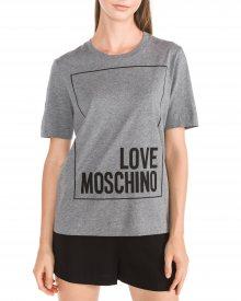 Triko Love Moschino | Šedá | Dámské | XS
