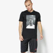 Jordan Nike Tričko Ss M Jsw Tee Wings Flc 3 Muži Oblečení Trička 907982-010 Muži Oblečení Trička Černá US XXL