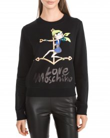Mikina Love Moschino   Černá   Dámské   XS
