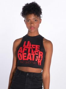 Tank Tops Life after death in black XL