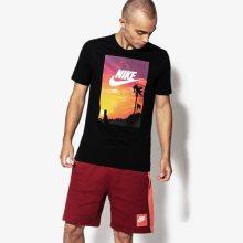 Nike Tričko Ss M Nsw Tee Ftwr 4 Muži Oblečení Trička 911952-010 Muži Oblečení Trička Černá US L