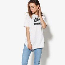 Nike Tričko Ss W Nsw Top Logo Air Ženy Oblečení Trička Aa1720-051 Ženy Oblečení Trička Bílá US L