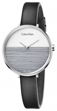 Rise Hodinky Calvin Klein   Černá Stříbrná   Dámské   UNI