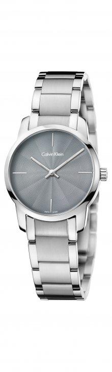 City Hodinky Calvin Klein | Stříbrná | Dámské | UNI