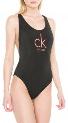Jednodílné plavky Calvin Klein   Černá   Dámské   S