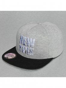 Snapback New York Style šedá Standardní