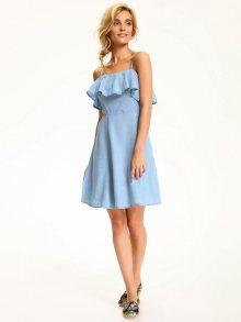 Šaty modrá světlá 40