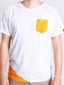 Tričko Slicer Pocket bílá XL